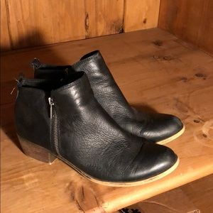 Lucky Brand Black Booties size 9 1/2